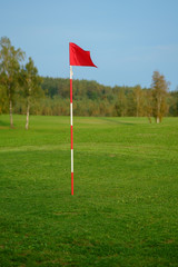 meadow golf field