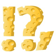 cheese question mark