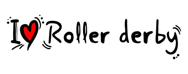 Roller derby love