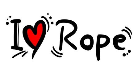 Rope love