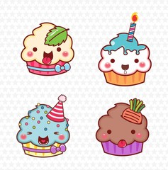 cupcake cartoon 05