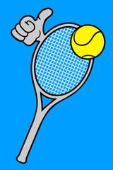 Tennis hand