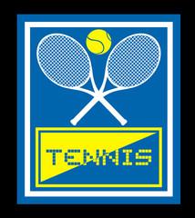 Tennis sign