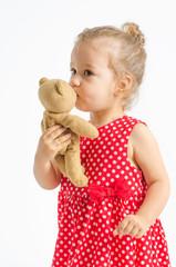 Kuss für Teddy