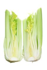 Two Halves of Celery