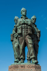 Commando Memorial Spean Bridge close up