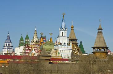 Moscow, Izmaylovskiy Kremlin