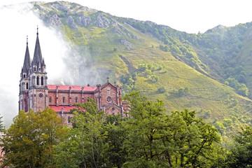 Monasterio Covadonga Asturias