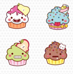 cupcake cartoon 10