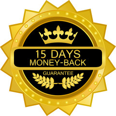 Fifteen Days Money Back Guarantee