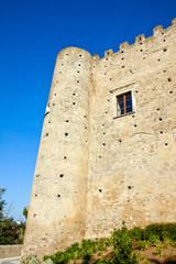 Miglionico, the castle. Basilicata, Italy