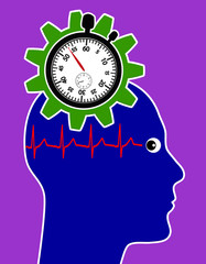Stress through Time Pressure as Health Risk