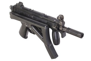 submachine gun MP5 isolated