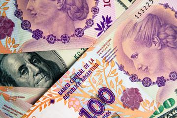 Dólar versus Pesos Argentinos