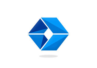 box cube triangle vector logo