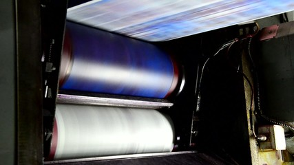 Webset offset print shop newspapers Printing