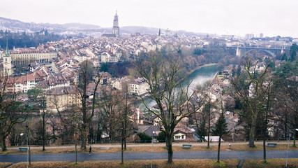 Bern on winter
