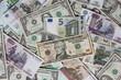 Euro, Dollar, Ruble
