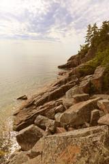 Lake Superior Rocky Shore