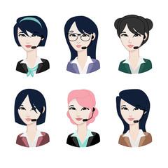 Contact Woman avatar: Asian