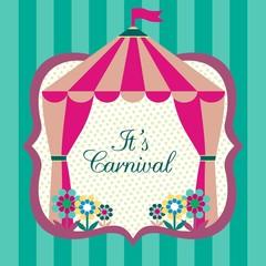 Carnival vector design