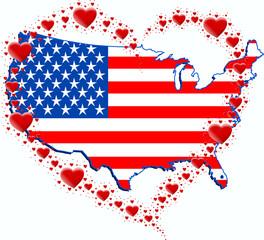 USA i serce z serc