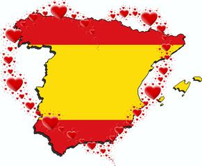 Hiszpania i serce z serc