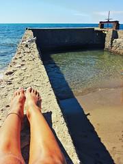 Al mare sulla chiusa