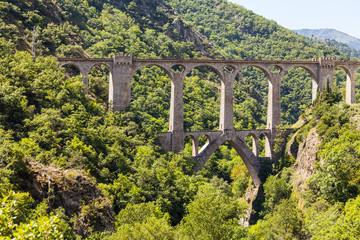 Brücke in den Pyrenäen