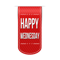 Happy wednesday banner design