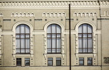 Greater windows of an old building