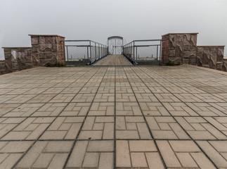 Gate to a fog