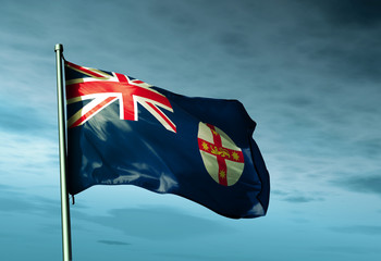 Flag of Australian state of New South Wales