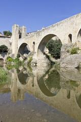 Besalu bridge landmark