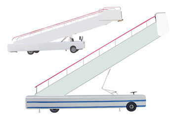 movable boarding ramp