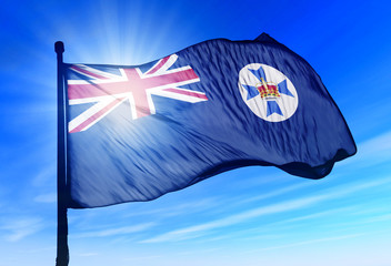 Flag of Australian state of Queensland
