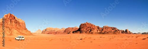Aluminium Woestijn Wadi Rum Desert, Jordan