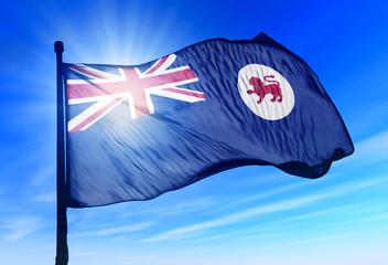 Flag of Australian state of Tasmania