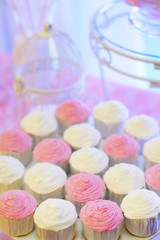 Delicious wedding's cupcakes