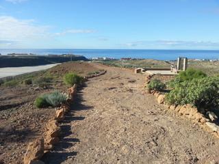 Camino Santiago. Tenerife island.