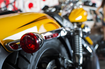 Motor bike detail