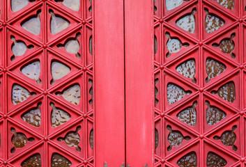 Red Temple Door