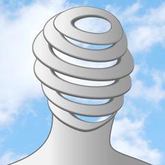 spiral head sky