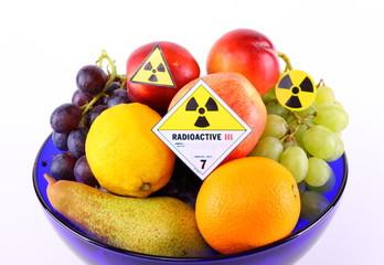 Radioaktives Obst