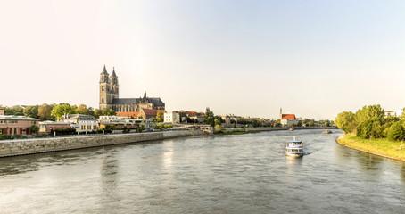 Magdeburg - DOM -  Elbpanorama 07066