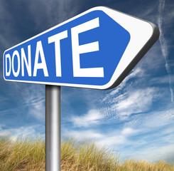 donate charity