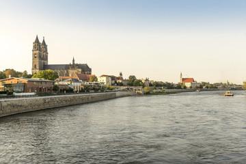 Magdeburg - Dom - Elbpanorama 07077