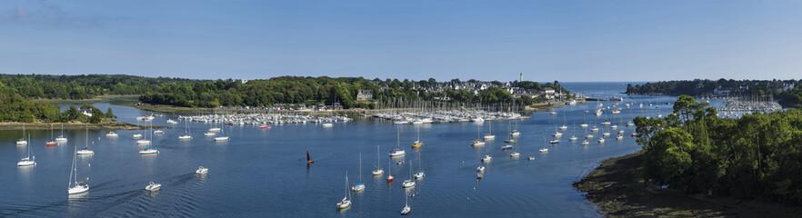 Village de Bénodet en Bretagne