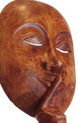 Сувенирная деревянная маска