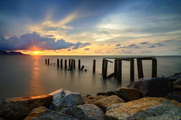 Subtle Sunset at Pantai Robina